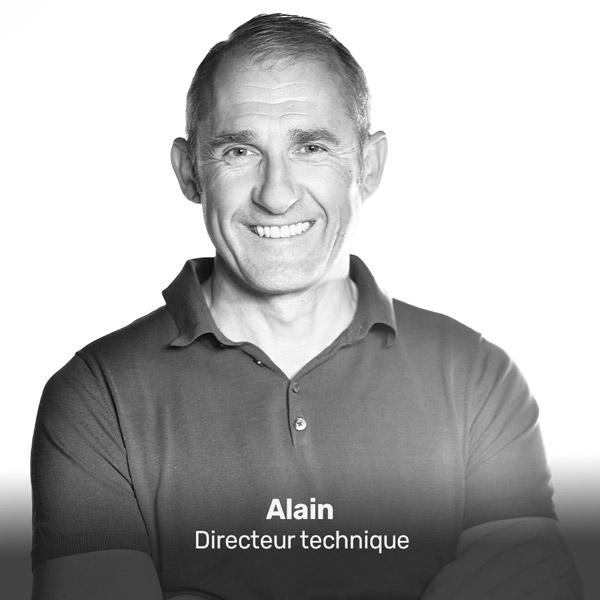 Alain, directeur technique à la Miroiterie du Rhône