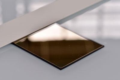Aperçu de nos produits, échantillon verre miroir pour vos projets en agencement et décoration