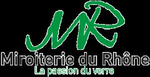 Logo de la Miroiterie du Rhône dans le footer