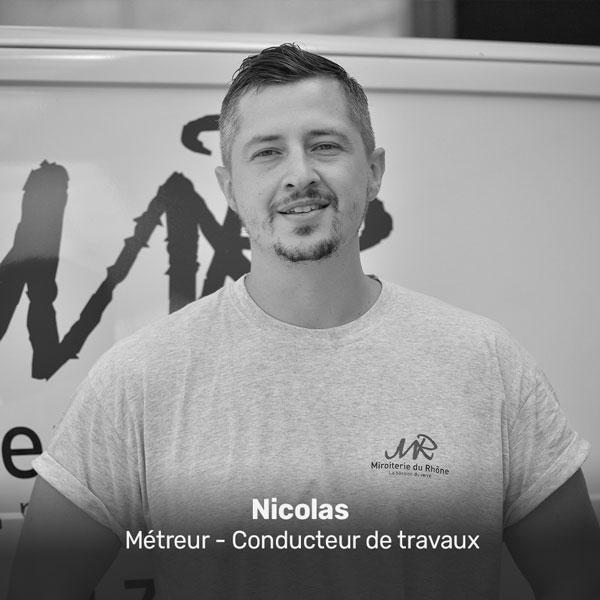 Nicolas, métreur et conducteur de travaux à la Miroiterie du Rhône
