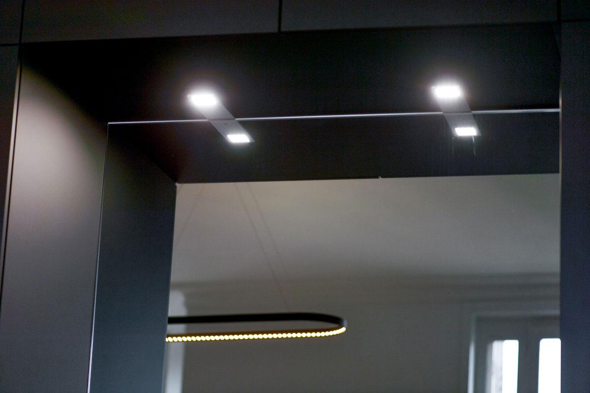 Miroir décoratif pour l'agencement intérieur par la Miroiterie du Rhône